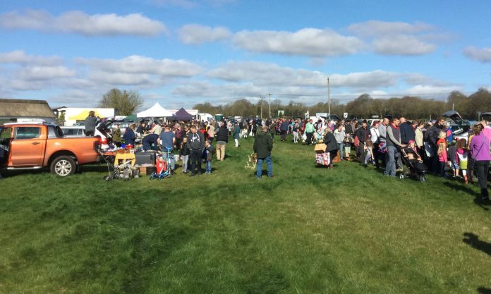 Wyke down car boot sale 2016